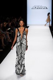 PROJECT RUNWAY, winner Anya Ayoung-Chee 10-piece collection at NY Fashion Week, 'Finale, Part Two of