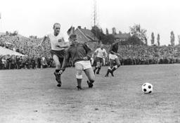 Soccer Bundesliga 1963/64: Preussen Muenster-Hamburger SV 1:1
