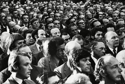 Doctors And Consultants At Private Practice Protest Meeting Central Hall Westminster 1975.