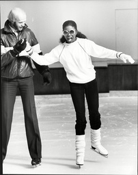 Singer And Actress Patti Boulaye Ice Skating Patti Boulaye (born Patricia Ngozi Ebigwe 3 May 1954) Is A British-nigerian Singer Actress And Artist Who Was Among The Leading Black British Entertainers In The Seventies And Eighties. In Her Native Niger