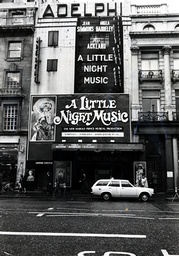 Adelphi Theatre London Pictured In 1975 When A Little Night Music Was Showing Starring Jean Simmons Angela Baddeley And Joss Ackland.