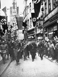 Rudolf Hess in Muenster, 1936