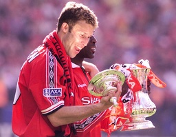 MANCHESTER UNITED'S RONNY JOHNSEN ADMIRES FA CUP