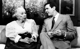GOOD MORNING, AMERICA, from left: Agnes Demille, Charles Gibson (ca. 1991), 1975-, ©ABC/courtesy Eve