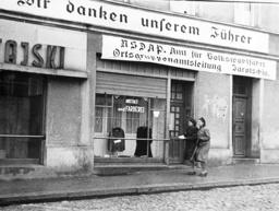 Office of NSC in Jarocin, 1941