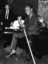 Aloysius Gordon Soho Club Singer And Former Boyfriend Of Kristine Keeler Pictured During Rehearsals At The Stork Club.