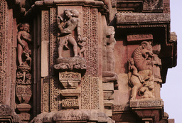 Bhubaneswar, Raja-Rani-Tempel, Skulpturenschmuck / Foto - -