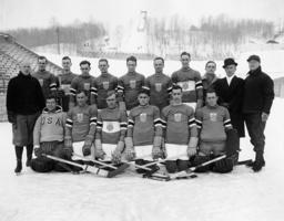 AMERIKANSKA OS-LAGET I HOCKEY 1932