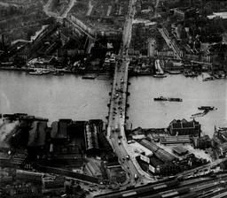 Vauxhall Bridge - Aerial Photo