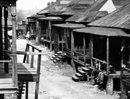 Wohnviertel f.Farbige/Atlanta/Foto 1936 - 'Negro quarter' / Atlanta / Photo / 1936 -