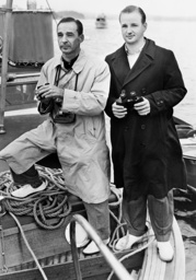 Edsel Ford and his son Benson, 1939