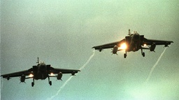 FILE PHOTO OF TWO TORNADO JET FIGHTERS