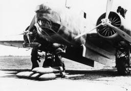 Flugzeug der ital.Luftstreitkräfte 1940 - Aeroplane of the Italian Air Force 1940 -