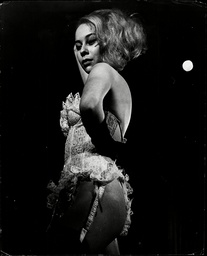 Kathy Keeton Performing At The Casino De Paris Club. Keeton Was One Of The Highest-paid Strippers In The World. She Later Married Penthouse Publisher Bob Guccione.