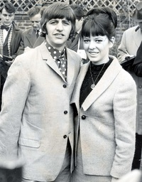 Beatles Drummer Ringo Starr And Wife Maureen (nee. Cox) (died In December 1994) In 1965 (divorced In 1975).