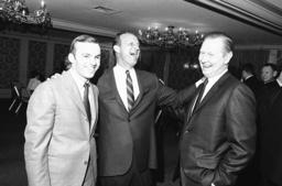 Stan Musial, Red Schoendienst, Dick Musial