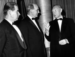 Adenauer meets Rusk
