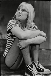 Ann Mitchell Actress Rehearsing Play You'll Come To Love Your Sperm Test 1965.