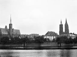 Wroclaw- Cathedral Island 1935