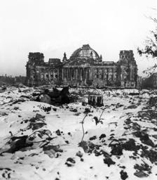 Post-war era - destructions in Berlin