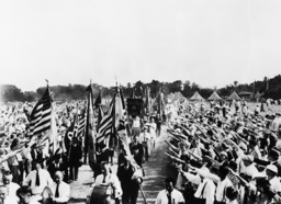 Großkundgebung Deutschamerikaner 1936 - Mass Gathering of German-Americans 1936 -