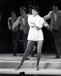 Angela Rippon High Kicking Her Way Through Rehearsals For The Royal Command Performance At The Theatre Royal Drury Lane ...tv Presenter