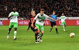 01 04 2016 Fussball Saison 2015 2016 1 Bundesliga 28 Spieltag Bayer 04 Leverkusen VfL Wolf