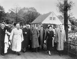R.Ley u. Herzog v. Windsor 1937 i.Berlin - R.Ley & Duke of Windsor / Berlin / 1937 - R.Ley et le duc de Windsor 1937 à Berlin