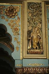 Mysore, Palast Amba Vilas, Darbar-Halle / Foto - Mysore, Amba Vilas Palace, Darbar Hall / Photo -