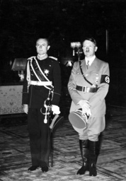 Prince Regent Paul of Yugoslavia with Adolf Hitler