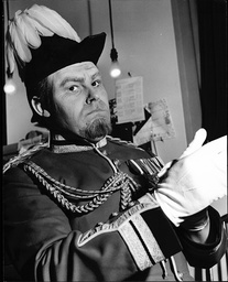Actor Timothy West As The Governor General In Play 'the Governor's Lady'.