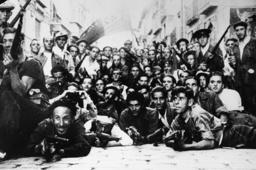 Span.Bürgerkrieg/Arbeitermiliz in Toledo - Workers' militia / Toledo / 1936 - Milices des travailleurs / Tolède / 1936