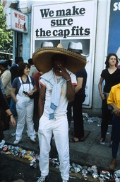 NOTTING HILL CARNIVAL, LONDON, BRITAIN - AUG 1982