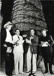 R.L.Ripley, J.E.Miles i.d.Carlsbad Cav. - Ripley & Miles at Carlsbad Caverns -