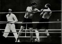 Boxer Don Mccorkindale (left) Fighting Maurice Griselle At The Palaise Des Sports Griselle Won On Points Donald 'don' Dinnie Mccorkindale (16 August 1904 Oo 11 August 1970) Was A South African Boxer Who Competed In The 1928 Summer Olympics. He Was