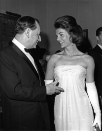 Jackie Kennedy and André Malraux