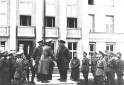 Heinz Guderian and General Kriwoschin in Poland, 1939