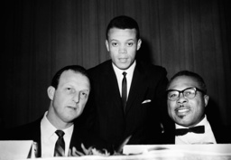 Stan Musial, Maury Wills, Archie Moore