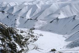Shibar-Pass im Winter / Ftoo 1968 - -