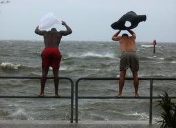 Floridians Prepare For Hurricane Ivan