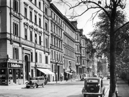 Luetzow Street in Berlin, 1938