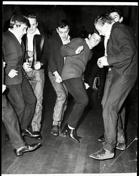 Teenagers Pictured At A Dance At Stratford Town Hall London In 1963.