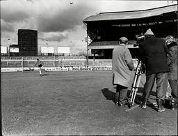 Peter Bonetti Goalkeeper With Chelsea Fc Being Filmed At Chelsea's Ground 1970.