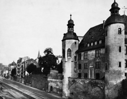 Old castle in Koblenz, 1925