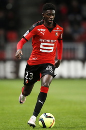 Stade Rennes v AS Monaco - French Ligue 1 - Roazhon Park stadium