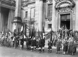Inclusion of the Protestant youth in the Hitler Youth, 1934