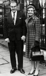 Acting Couple Timothy West And Prunella Scales Marry At Chelsea Register Office In October 1963.