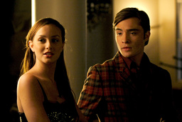 GOSSIP GIRL, from left: Leighton Meester, Ed Westwick, 'There Might be Blood', (Season 2, ep. 209, a