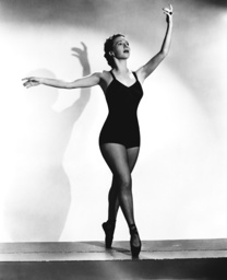 Dancer and choreographer Agnes de Mille, 1941