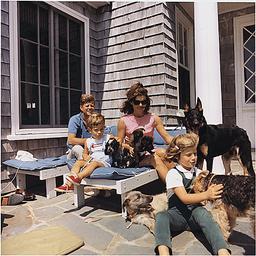 United States President John F Kennedy